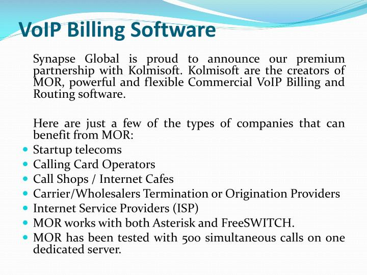 VoIP Billing Software