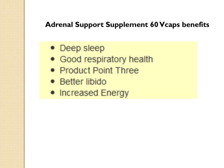 Adrenal Support Supplement 60
