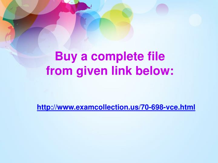 Buy a complete file from given link below: