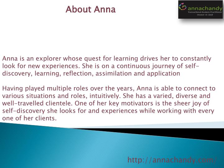 About Anna