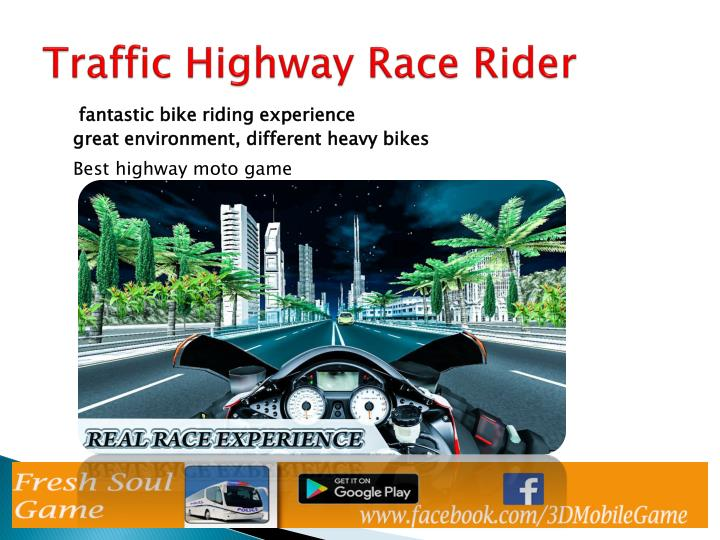 Traffic highway race rider1