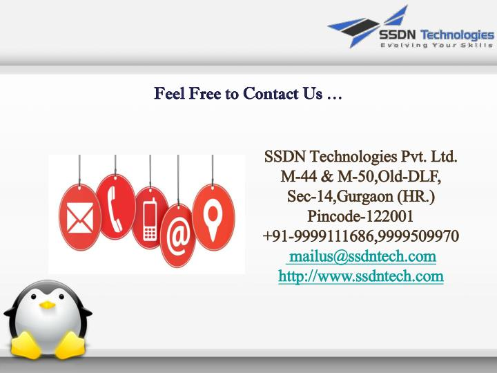Feel Free to Contact Us …