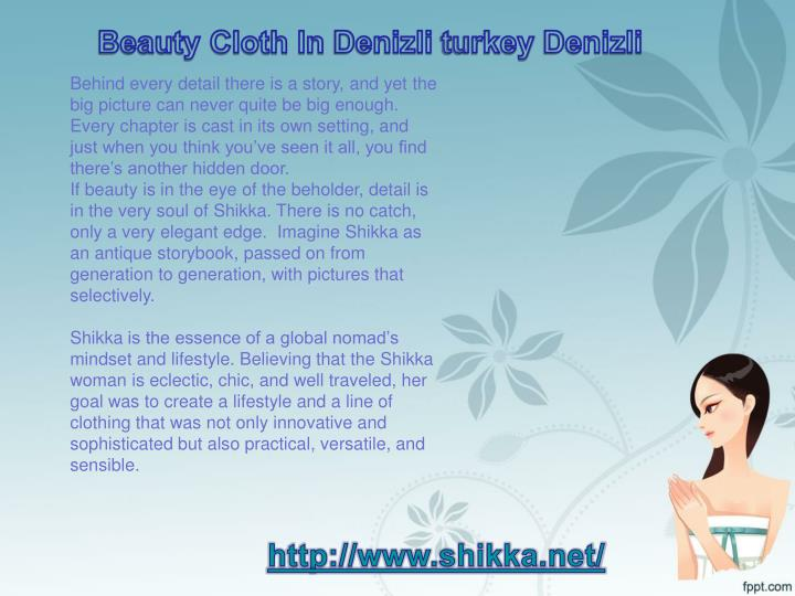 Beauty Cloth In