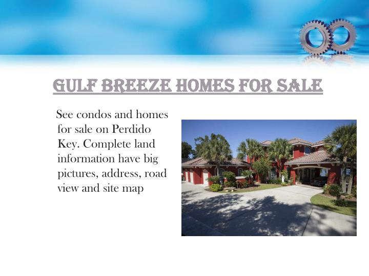Gulf Breeze Homes for Sale