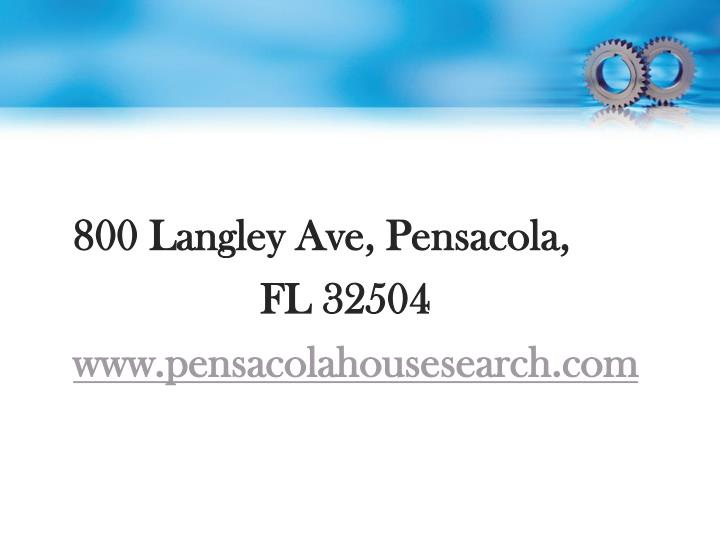 800 Langley Ave, Pensacola,