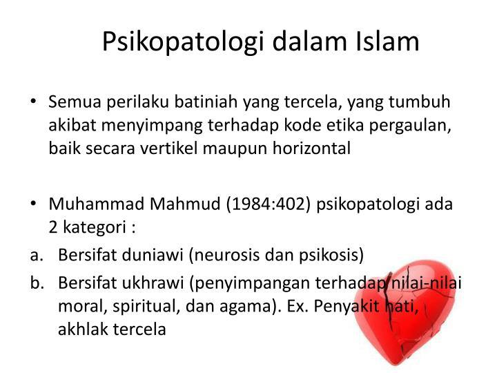 Psikopatologi dalam Islam