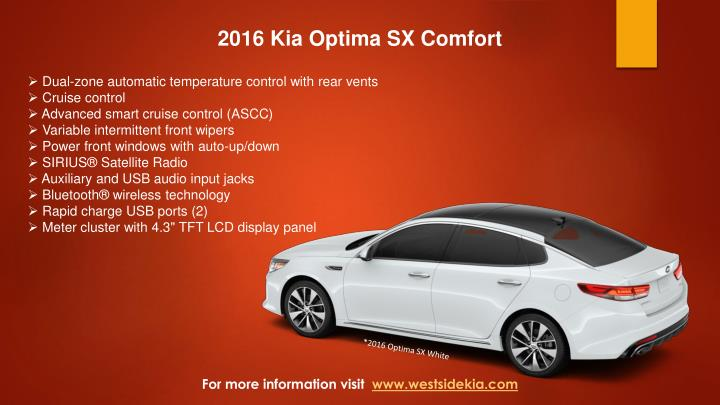 2016 Kia Optima SX Comfort
