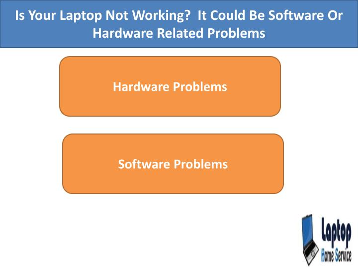 Is Your Laptop Not Working?  It Could Be Software Or Hardware Related Problems