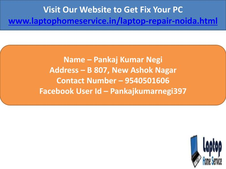 Visit Our Website to Get Fix Your PC