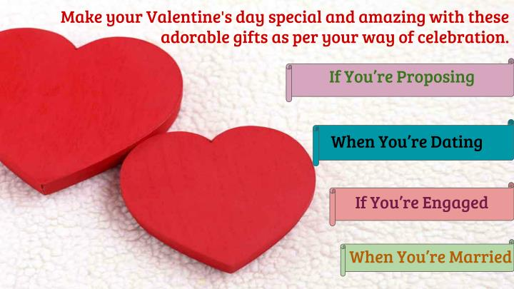 Make your Valentine's day special and amazing with these