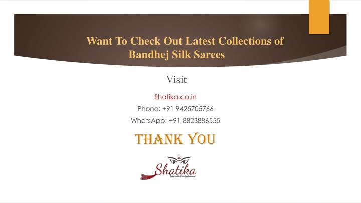 Want To Check Out Latest Collections of