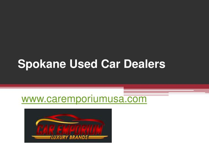 Spokane Used Car Dealers