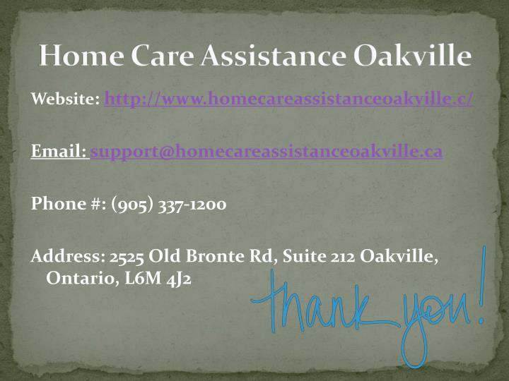 Home Care Assistance Oakville