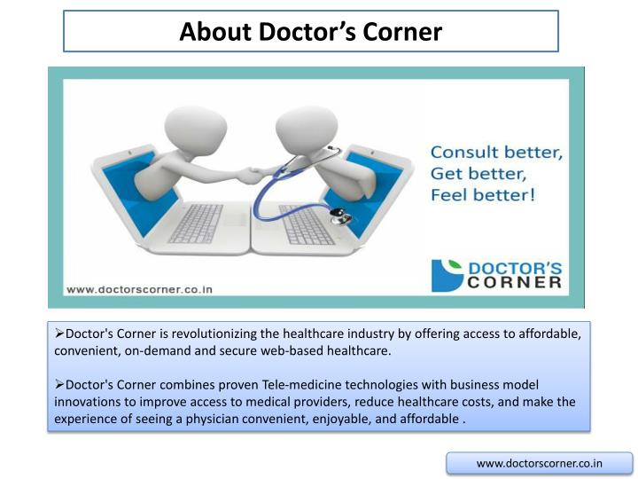 About Doctor's Corner