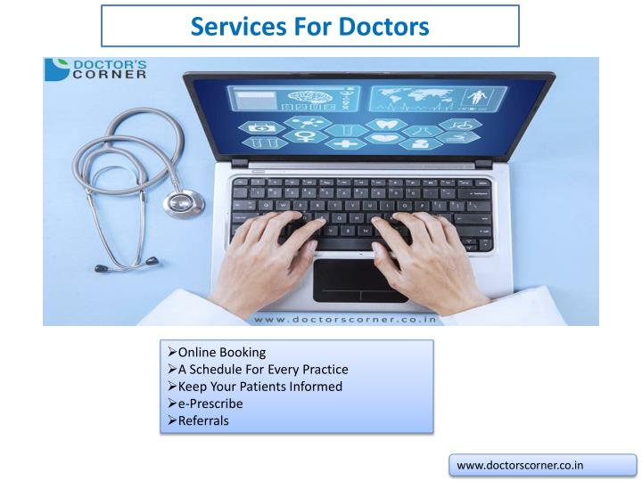 Services For Doctors