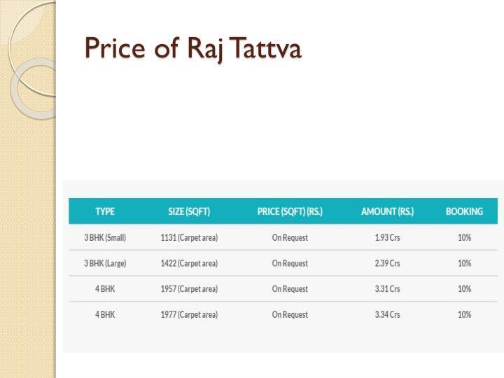 Price of Raj