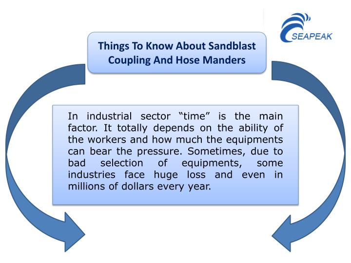 Things To Know About Sandblast Coupling And Hose Manders