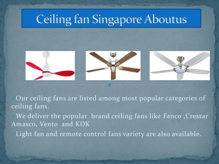 Ceiling fan singapore a boutus