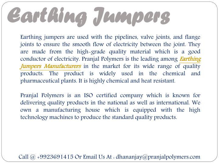 Earthing Jumpers