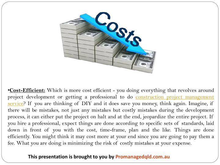 Cost-Efficient