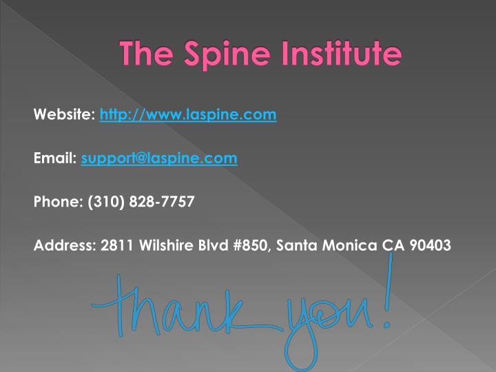 The Spine Institute