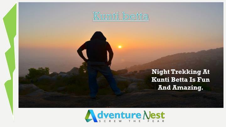 Night Trekking At