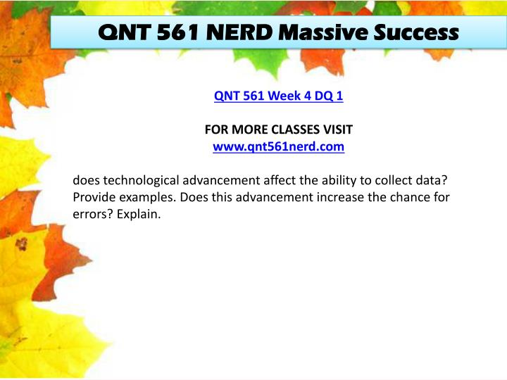 QNT 561 NERD Massive Success