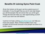 benefits of joining gyms point cook5