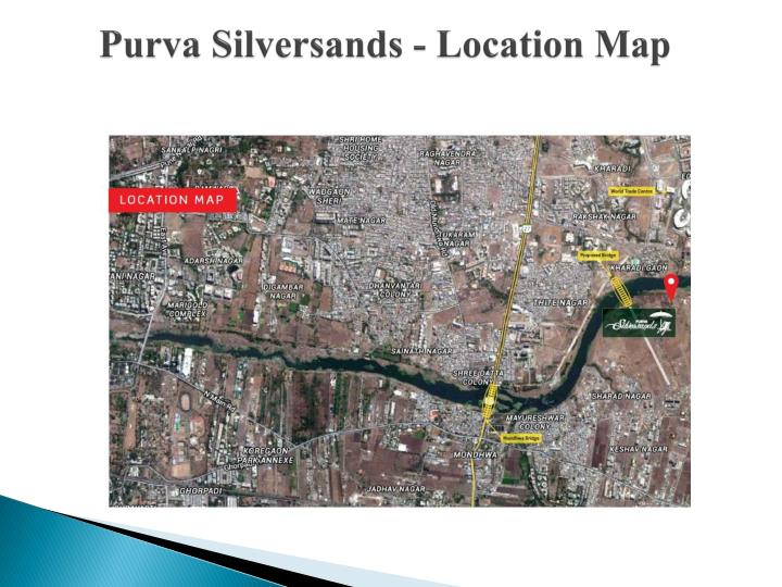 Purva silversands location map