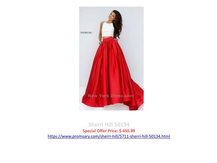 Sherri Hill 50134