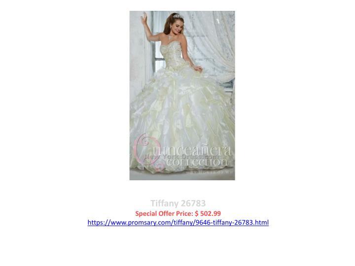 Tiffany 26783