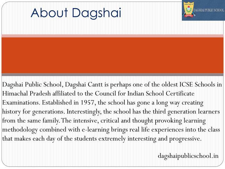 About Dagshai