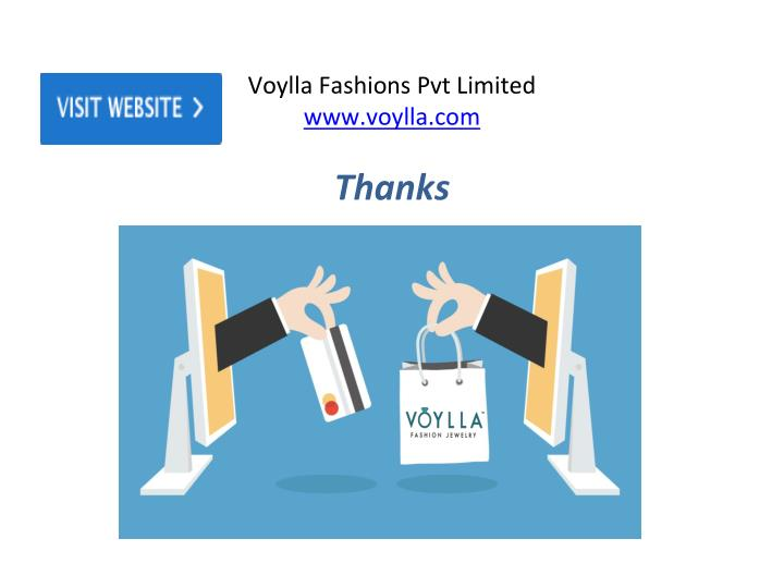 Voylla Fashions Pvt Limited