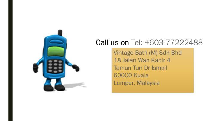 Call us on