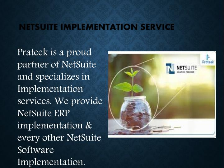 NETSUITE IMPLEMENTATION SERVICE