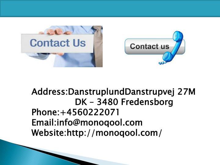 Address:DanstruplundDanstrupvej
