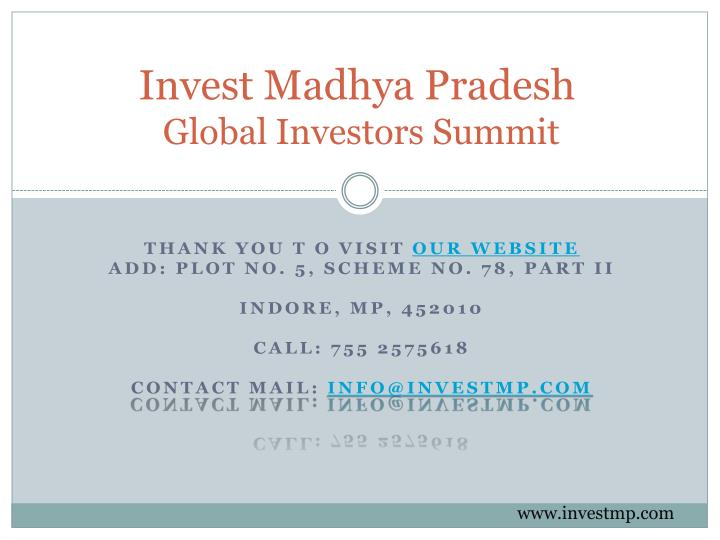 Invest Madhya