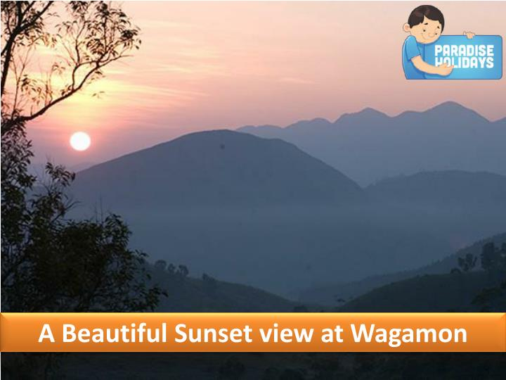 A Beautiful Sunset view at