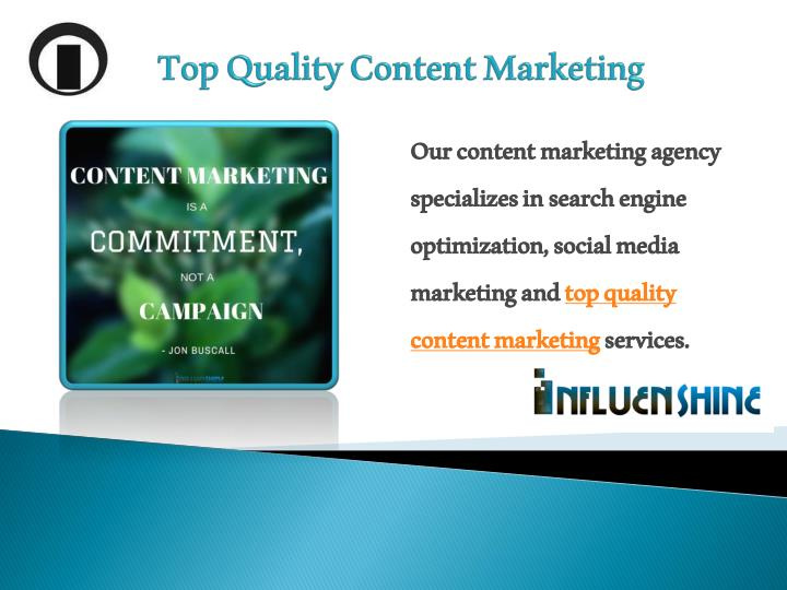 Top Quality Content Marketing