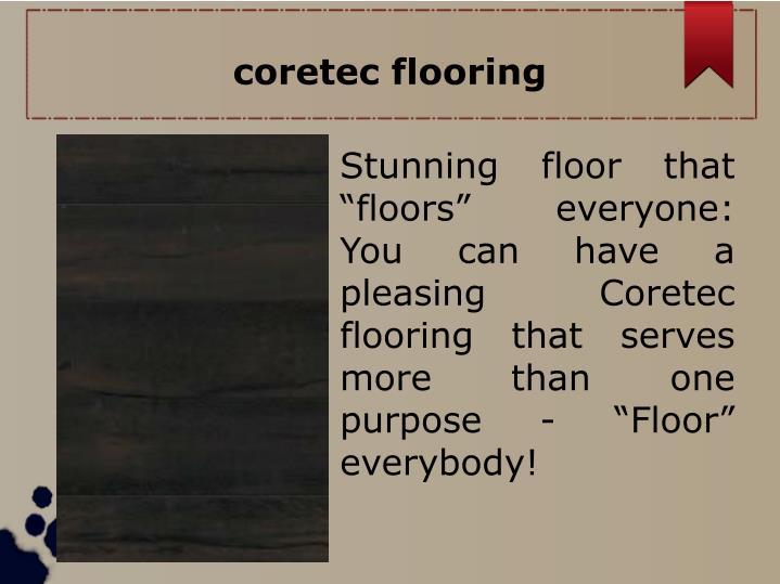 coretec flooring