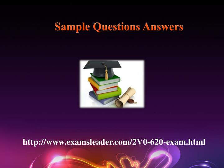 Sample Questions Answers