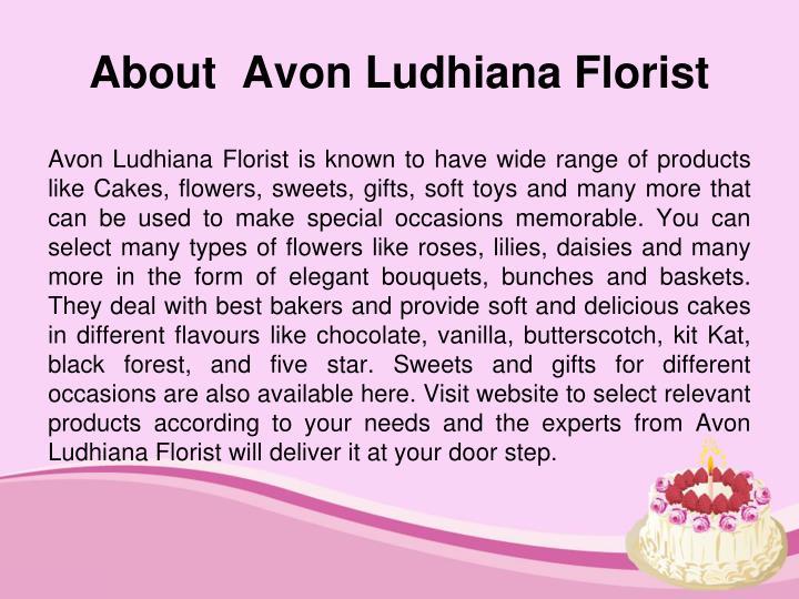 About  Avon Ludhiana Florist