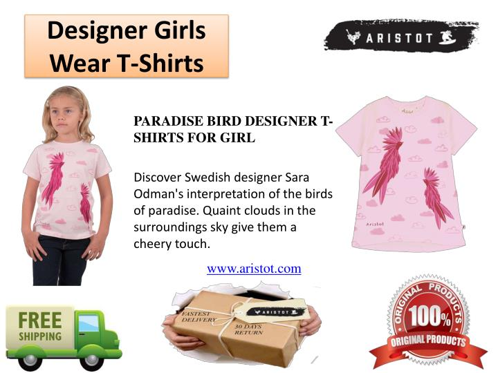 Designer Girls Wear T-Shirts