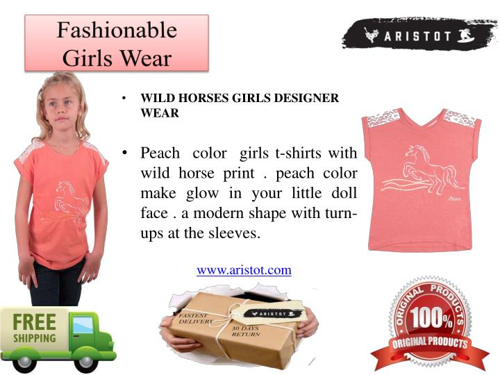 Fashionable girls wear