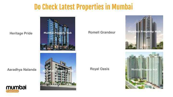 Do Check Latest Properties in Mumbai