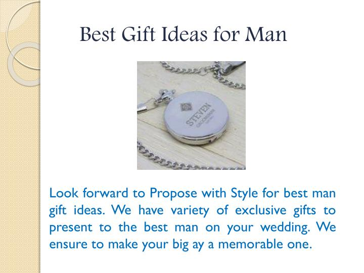 Best Gift Ideas for Man