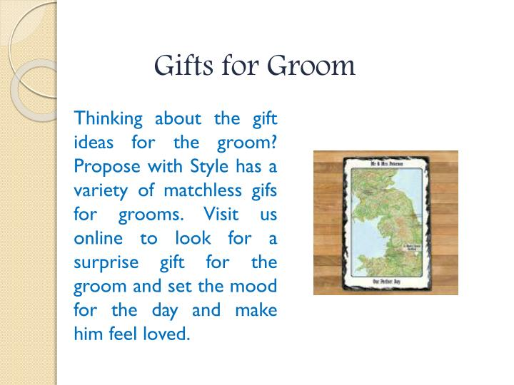 Gifts for Groom