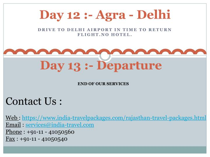 Day 12 :- Agra