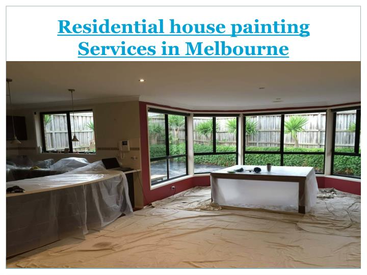 Residential house painting services in melbourne
