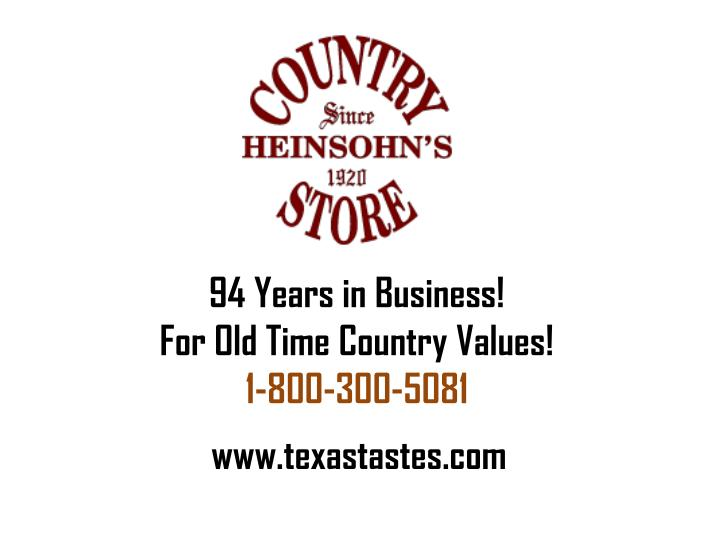94 Years in Business!